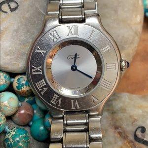 Cartier Accessories - Authentic Cartier Must de Cartier Watch